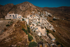 Mountain retreat..... (Dafydd Penguin) Tags: hill top settlement town whit whitewash urban greece island serifos cyclades sun voigtlander 15mm super wide heliar f45 v3 leica m10
