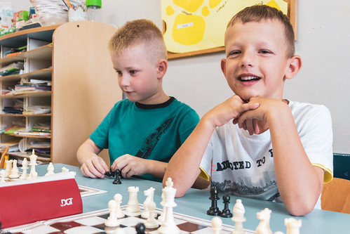 IX Turniej Szachowy o Mistrzostwo Przedszkola Wesoła Piątka-61