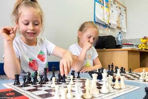 IX Turniej Szachowy o Mistrzostwo Przedszkola Wesoła Piątka-59