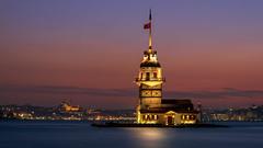 Maiden's Tower (Star Wizard) Tags: üsküdar istanbul turkey city water sky