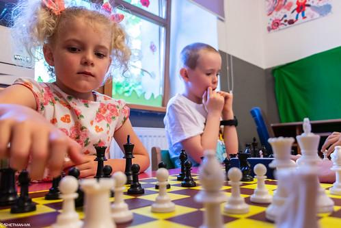 V Szachowe Mistrzostwa Przedszkola Abracadabra Jagiellońska-24