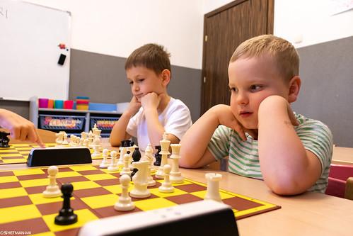 V Szachowe Mistrzostwa Przedszkola Abracadabra Jagiellońska-22