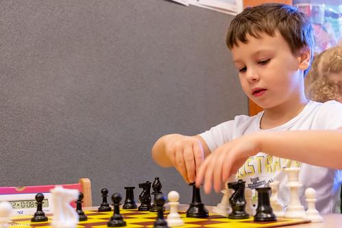 V Szachowe Mistrzostwa Przedszkola Abracadabra Jagiellońska-6