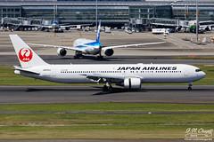 Japan Airlines [JL][JAL] / JA655J / 767-346ER / RJTT (starger64) Tags: canoneos5dmarkiv ef1004004556lisii eftc14xiii rjtt hnd hanedaairport 羽田機場 東京国際空港 aviation aircraft airplane arlines jl622 japanairlines 日本航空 ja655j boeing767346er boeing 767 763er 767300er