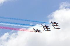 50 ans Airbus (G. Regisser Photographie) Tags: 50 ans airbus aircraft plane avion sky ciel air a380 beluga xl 2 patrouille de france paf canon