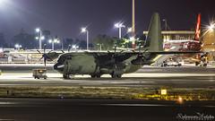 Malta International Airport (Redeemer_Saliba) Tags: united kingdom royal air force raf lockheed martin hercules c4 zh871 nightshot lmml luqa airport apron 9