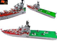 Moskva 3 views (Eínon) Tags: helicopter cruiser destroyer lego missile carrier aircraft moskva cold war urss cccp soviet union