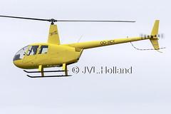 OO-HCY  190603-081-C4 ©JVL.Holland (JVL.Holland John & Vera) Tags: rotterdam aircraft aviation lr rtm ehrd zestienhoven holland netherlands canon europe nederland rotterdamthehagueairport jvlholland helicopter helico r44 robinsonr44raveni oohcy