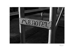 Hotel (radspix) Tags: contax rts 50mm carl zeiss planar t f17 kentmere 100 pmk pyro