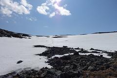 Using the snowfield, a pleasure always. (Filip Sandlöv) Tags: luopakte luobakti luovarri luovarre torneträsk e10