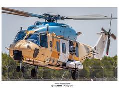 NH90 Happycopter (Ignacio Ferre) Tags: nh90 nhindustries caimán caiman famet helicóptero helicopter losllanos albacete eurocopter españa spain spotting nikon aircraft avión aviation aviación airplane military militar leab