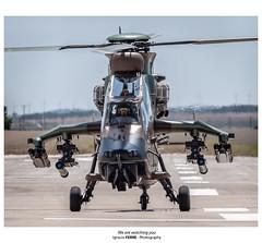 We are watching you (Ignacio Ferre) Tags: eurocopterec665tigre tigre ec665 eurocopter losllanos leab albacete spain españa spotting nikon helicóptero helicopter avión aviation aviación military militar aircraft airplane