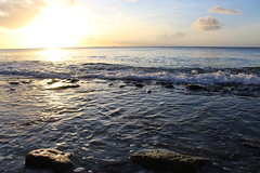 Ocean Sunset (Rckr88) Tags: pointeauxbiches mauritius pointe aux biches ocean sunset oceansunset oceansunsets sunsets sunlight sun sea water waves wave coast coastline coastal rock rocks beach beachsand nature naturalworld outdoors travel travelling