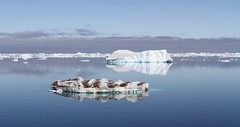 Small iceberg with rocks embedded in it (Paul Cottis) Tags: weddellsea antarctica ice iceberg ocean 1 february 2019 feb paulcottis reflection blue sky