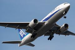 B777 ANA (kasa51) Tags: airplena jetplane airliner tokyo japan b777 ana 飛行機 旅客機