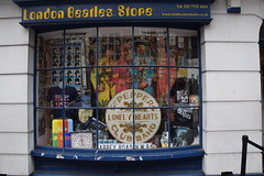 DSC_8048 London Bus Route #205 Beatles Store Sgt Peppers Lonely Hearts Club Band Baker Street Marylebone (photographer695) Tags: london bus route 205 beatles store sgt peppers lonely hearts club band baker street marylebone