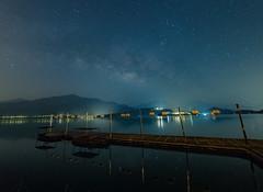 蔣公碼頭-日月潭 (bear杜) Tags: 銀河 日月潭 南投 台灣 蔣公碼頭 milkyway 星星