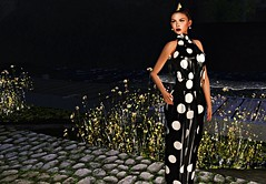 Spring Night (kare Karas) Tags: woman lady femme girl girly sweet cute beauty pretty elegant fashion night outdoors virtual avatar secondlife spring june event gown hair lipsticks nailscolours mesh bento hud colours sensual seduce wild jumo algesdesigns swankevent moondanceboutique designershowcaseevent