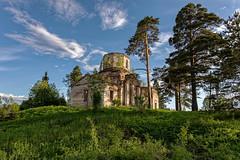KV9A7016-1_DxO (wernkro) Tags: kirche lostplace valdai russland krokor russia