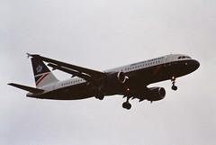 G-BUSG A320 British airways LHR 19-06-93 (cvtperson) Tags: gbusg a320 british airways london heathrow lhr egll