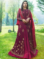 Partywear Purple Color Floor Length Faux Georgette Anarkali Suit (zeelpin) Tags: wedding partywear exclusive zeelpin demand event sales latest special morden style purchase royalty traditional colourful glamor currant popular glamour branding tranding t discount b4ufashion indianfashion look