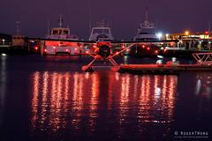 20190607-31-Sea plane (Roger T Wong) Tags: 2019 australia darkmofo hobart rogertwong sel24105g sony24105 sonya7iii sonyalpha7iii sonyfe24105mmf4goss sonyilce7m3 tasmania aeroplane lights red reflection seaplane water waterfront