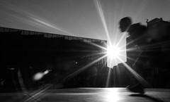 2019 (ivaslop) Tags: streetphotos blackandwhite blancoynegro running speed figueres catalonia omd digital