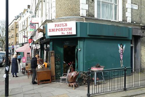 Pegasus stencil, Paul's Emporium
