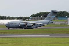 C17  66167 (TF102A) Tags: airplane aircraft aviation c17 usaf prestwick usairforce prestwickairport 66167