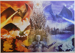 Fire and Ice, Game of Thrones, Buffalo, 2000 pieces (richieinnc) Tags: jigsaw puzzle 2000 buffalo game thrones