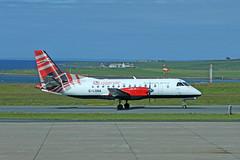 G-LGNA Saab 340B (Roger Wasley) Tags: glgna saab340b loganair kirkwall airport orkney scotland plane aircraft