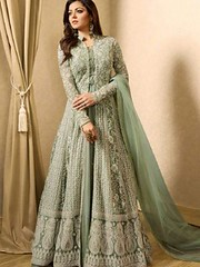 Fashionable Partywear Light Green Colour Full Long Anarkali Suit (zeelpin) Tags: wedding event zeelpin special demand sales latest exclusive morden style partywear purchase tranding royalty discount currant traditional b4ufashion popular colourful glamour indianfashion branding look glamor