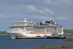 MSC Preziosa (Roger Wasley) Tags: msc preziosa cruise ship liner boat vessel kirkwall orkney scotland fantasia class