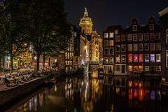Amsterdam 2016 - Revisited (auredeso) Tags: amsterdam quartiere luci rosse notte night multiesposizione nikon d7100 tokina nikond7100 tokina1116 light