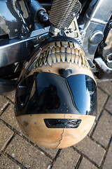 Krazy Horse Bike Night-Crash Helmet (Caught On Digital) Tags: bikes burystedmunds choppers crashhelmet custom krazyhorse motorcycles motorbikes suffolk