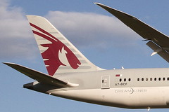 A7-BCF QATAR AIRWAYS BOEING 787-8 DREAMLINER (Roger Lockwood) Tags: a7bcf qatarairways boeing787 dreamliner manchesterairport man egcc