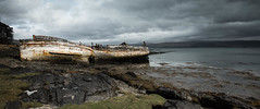 Salen Wreck Storm.jpg (JuSlaughter) Tags: wood wind spring storm old water salen moody canon light aging timber rotting ship scotland ocean derelict dark wreck cloud sea boat isle rain deck mull