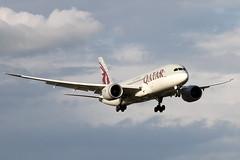 A7-BCF QATAR AIRWAYS BOEING 787-8 DREAMLINER (Roger Lockwood) Tags: a7bcf qatarairways boeing787 dreamliner manchesterairport egcc man
