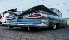 Krazy Horse Bike Night-Chevy Impala 1959 (Caught On Digital) Tags: bikes burystedmunds chevrolet choppers custom krazyhorse motorcycles motorbikes suffolk