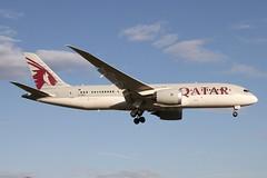 A7-BCF QATAR AIRWAYS BOEING 787-8 DREAMLINER (Roger Lockwood) Tags: a7bcf qatarairways boeing787c dreamliner manchesterairport man egcc
