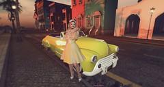 MOEKO Kumiko Tea Dress (PinkangelIndigo) Tags: 7 arte avaway baxe bootysbeauty catwa doux emarie gomakeup heels littlehavana macherie maitreya michan moeko thepointevent veechi