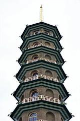 The Kew Pagoda (stavioni) Tags: kew gardens pagoda 18th century building