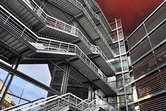 FACHADA DE LA BIBLIOTECA DEL REINA SOFIA (a-r-g-u-s) Tags: jean nouvel jeannouvel atocha madrid escaleras fachadas bibliotecas reinasofia acero