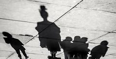 Top knot (MiguelHax) Tags: shadows london blackandwhite monochrome bw wb noiretblanc whiteandblack