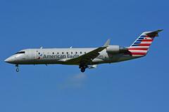 N262PS (American Eagle - PSA Airlines) (Steelhead 2010) Tags: americaneagle americanairlines psaairlines bombardier canadair crj crj200 yyz nreg n262ps