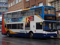 Stagecoach ADL Trident (ADL ALX400) 18405 KX06 JYG (Alex S. Transport Photography) Tags: bus outdoor road vehicle stagecoach stagecoachmidlandred stagecoachmidlands unusual alx400 alexanderalx400 dennistrident trident adltrident adlalx400 route3 18405 kx06jyg