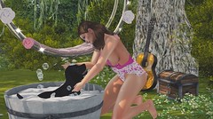Bath for chouquette (sibyl gothly666) Tags: magika {witchcraft} {touch mia} raindale rally to rescue
