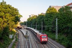 7-6-2019 - Berlin (Dunckerstraße) (berlinger) Tags: berlin railroad deutschland eisenbahn railways br101 sonderzug vsoe specialtrain venicesimplonorientexpress orientexpres