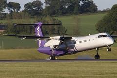 Dash 8 G-JECP FlyBE - Edinburgh Airport 6/6/19 (robert_pittuck) Tags: dash 8 gjecp flybe edinburgh airport 6619