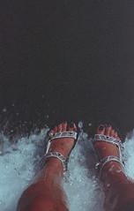 dare I say I'm walking on water? (Sarah Rausch) Tags: canonnewf1 kodaksupra400 ishootfilm filmisnotdead bubbles film
